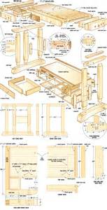 craftsmans workbench woodworking plans 09 woodshop plans