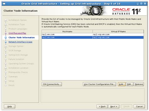 linux xhost tutorial step by step tutorial installation oracle rac 11gr2 on