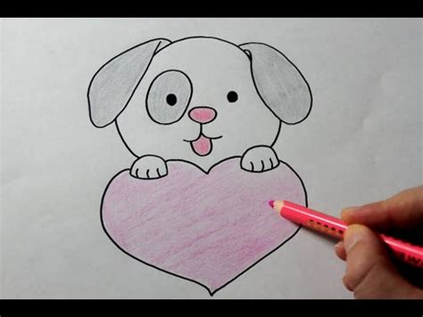 puppy drawing easy puppy drawing how to draw a puppy with easy vitlt
