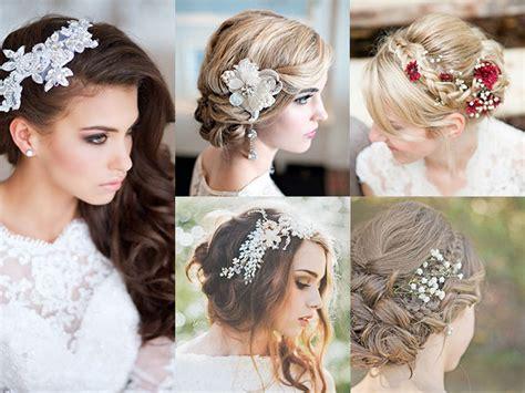 fotos de vestidos de novia y peinados peinados de novia con flores fotos actitudfem