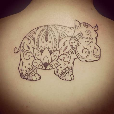 hippo tattoo 25 best ideas about hippo on
