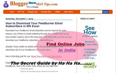 How To Make Money Online India - how to earn money online in india without investment