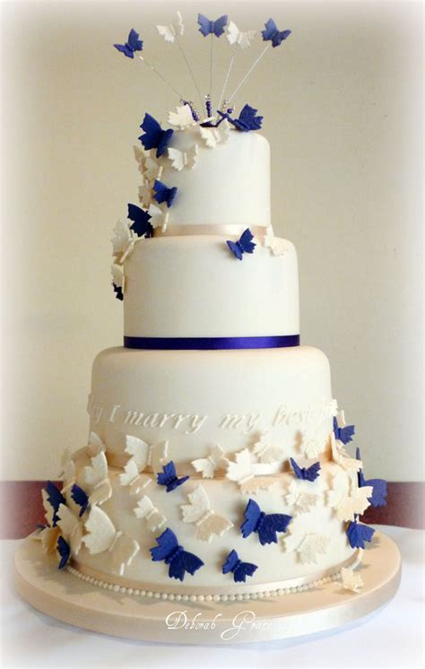Tortendekoration Hochzeit by Butterfly Wedding Cakes Decoration Wedding Cake Cake