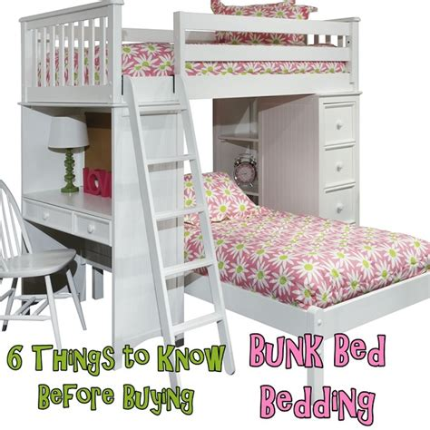 what sheets to buy six things to before buying bunk bed bedding