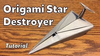 tutorial origami pesawat jet cara membuat origami pesawat star wars kharasach