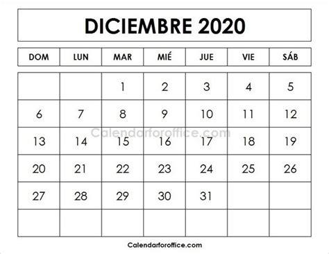calendario  diciembre  calendar calendar november calendar