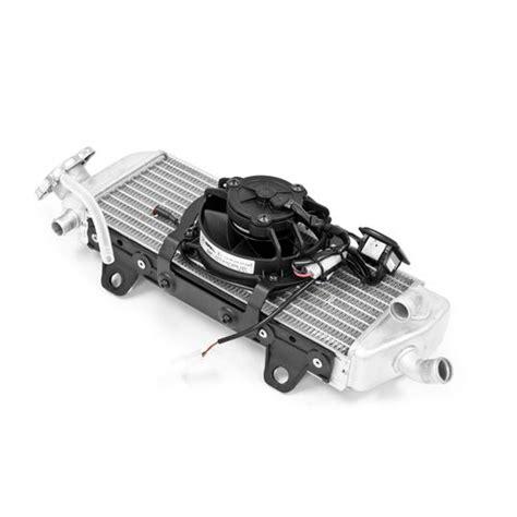 dirt bike radiator fan kit trail tech radiator fan kit ktm husqvarna 2016 2017