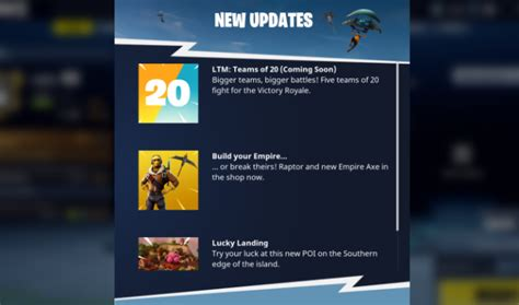 fortnite news new 20 vs 20 mode being added to fortnite metro news