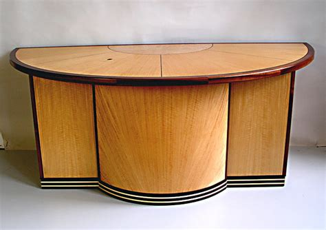 deco desk l deco half circle desk