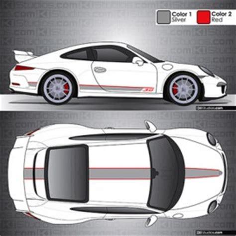 Porsche Aufkleber Gts by Porsche 991 Gt3 Stripes By Ki Studios