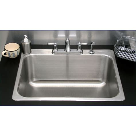kitchen sinks kitchen drop in sink with single bowl
