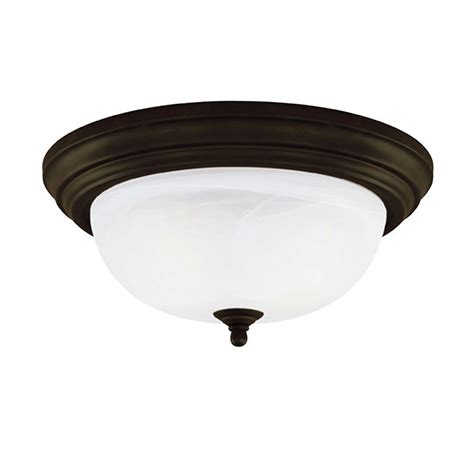 Westinghouse 2 Light Ceiling Fixture White Interior Flush Chain Ceiling Light