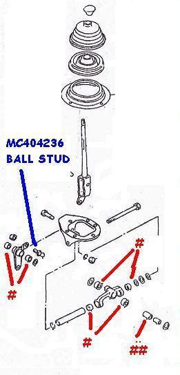 Drag Link Fuso 6d22 As Besar 8dc9 8dc10 mc404236 steel stud gear linkage overhaul your