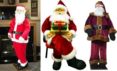 life size santa claus decoration whereibuyit com