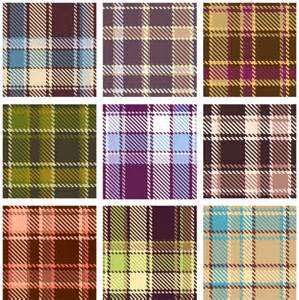 Plaid Design by Plaid Patterns 02 Vector Free Vector In Encapsulated