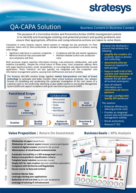 Capa A Five Step Plan stratesys flyer qa capa sep2014 eng