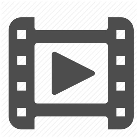 format video clip clip film movie play reel video watch icon icon