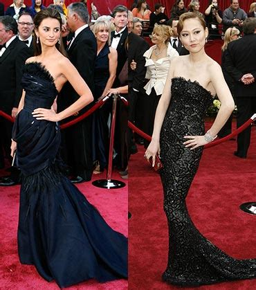 Who Wore It Best At The 79th Annual Academy Awards by Who Wore It Better At The Oscars Rediff