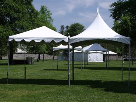 Canopy And 10 X10 White Canopy Town Country Event Rentals