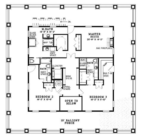 Small Plantation Home Floor Plans Small Southern Plantation House Plans House Plans