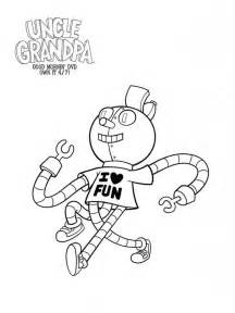 uncle grandpa coloring pages free printable uncle grandpa coloring pages