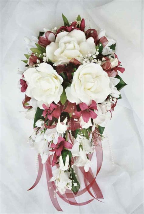wedding silk flower bouquets wedding bouquets wedding bouquets images