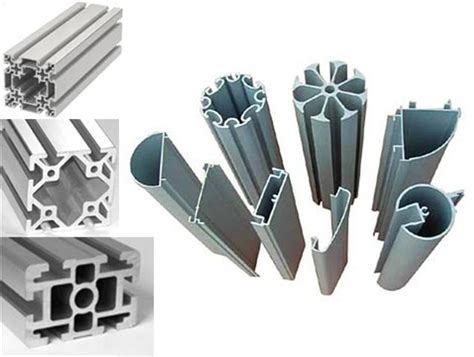 extruded aluminum sections drilling cutting of calendared extruded aluminum
