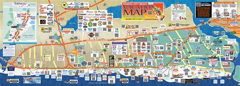 Vacation Home Rentals Panama City Beach Fl - panama city beach map visitpanamacitybeach net
