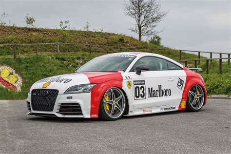 Audi Tt Tuner by Audi Ttrs Im Quot Marlboro Style Quot Eurotuner News