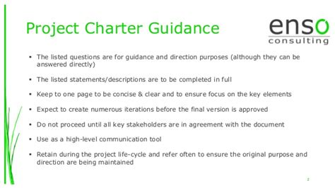 Project Charter Exle Ppt Driverlayer Search Engine Project Charter Powerpoint