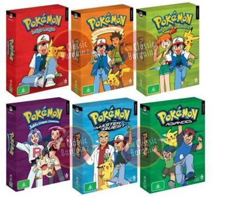 favole 2 set me pokemon complete season 1 2 3 4 5 6 box set 36 dvd new ebay
