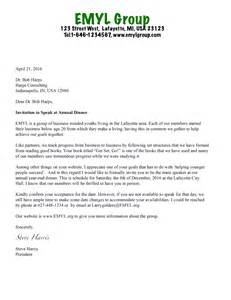 Sle Invitation Letter To Youth Conference Guest Speaker Invitation Letter Sle Invitation Letter