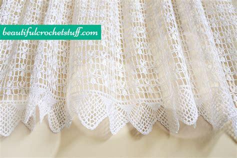 Crochet Patterns Crochet Curtain Crochet Pattern crochet curtain free pattern beautiful crochet stuff