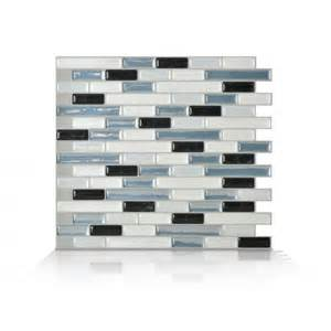 smart tiles kitchen backsplash smart tiles sm1041 12 quot muretto brina quot self adhesive