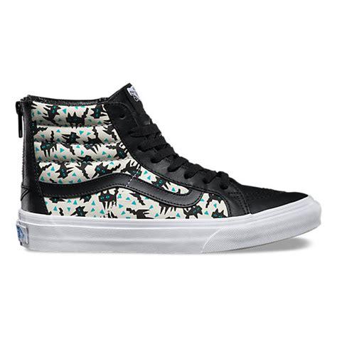 Eley Kishimoto Court Shoes by Eley Kishimoto Sk8 Hi Slim Zip Shop Classic Shoes At Vans