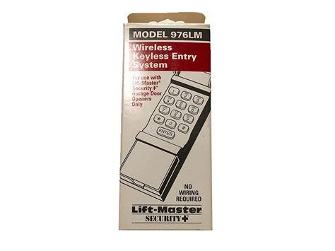 liftmaster garage door opener keypad blinking dandk