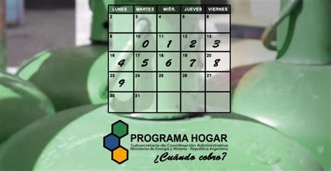 fechas de cobro de programa hogar 2016 anses fechas de cobro de garrafa social del programa
