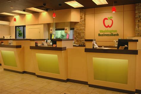 new counters washington business bank bank design renovation
