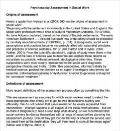 plan template social work sle psychosocial assessment 8 documents in word pdf