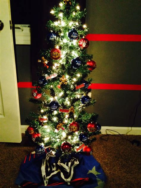 wwe christmas tree christmas pinterest boys trees