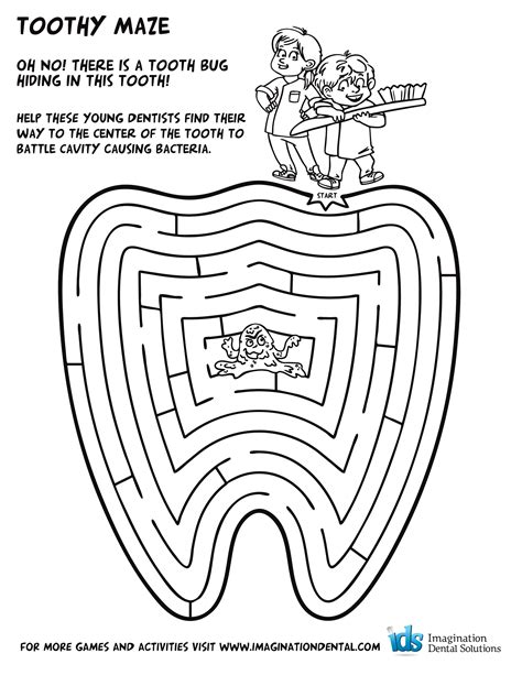Print Coloring Image Dental Google Search And Google Teeth Coloring Pages