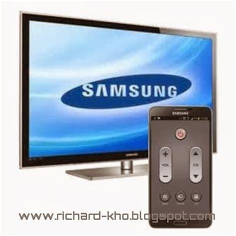Tv Samsung Dan Nya android cara menjadikan smartphone samsung galaxy s4 dan note 3 sebagai remote televisi tv