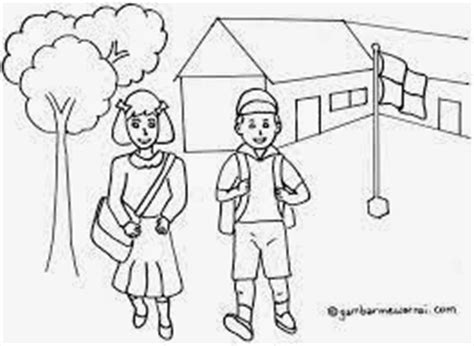 sdn gelam i contoh gambar sketsa uts kelas 4 mapel sbk