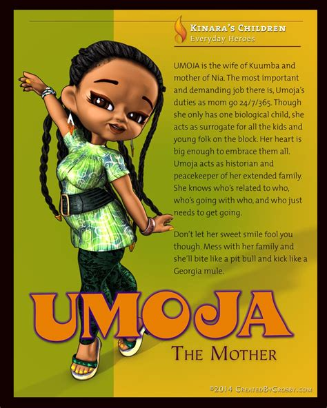 umoja means unity 187 created by crosby