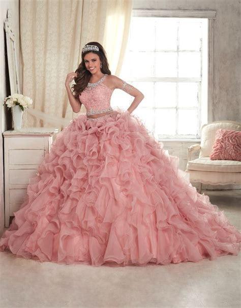vestidos de xv rosados aquimodacom vestidos de boda vestidos vestidos de 15 a 241 os color rosa tendencias 2018 2019