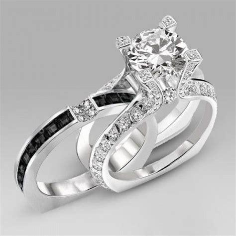 Best 25  Black wedding rings ideas on Pinterest   Black