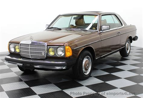 Mercedes Diesel Cars For Sale by 1978 Used Mercedes 300cd Diesel Coupe At