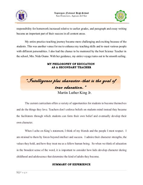 Teaching Experience Essay by My Teaching Experience Essay