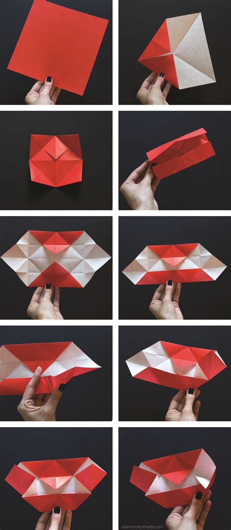 How To Make Vire Teeth Out Of Paper - vitamini handmade diy origami fangs