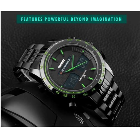 Skmei Fashion Water Resistant Jam Tangan skmei jam tangan analog digital pria ad1131 black jakartanotebook